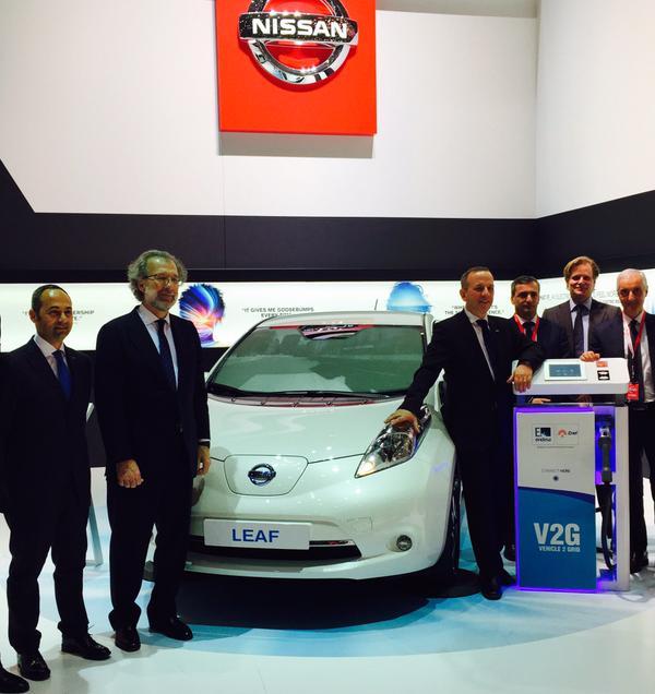 Nissan y Endesa V2G 2