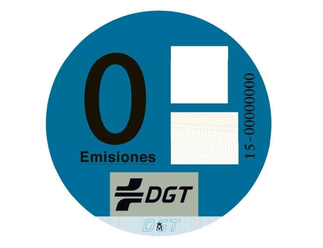 distintivo DGT
