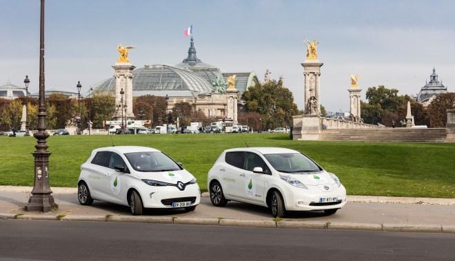 Nissan Leaf y Renault ZOE