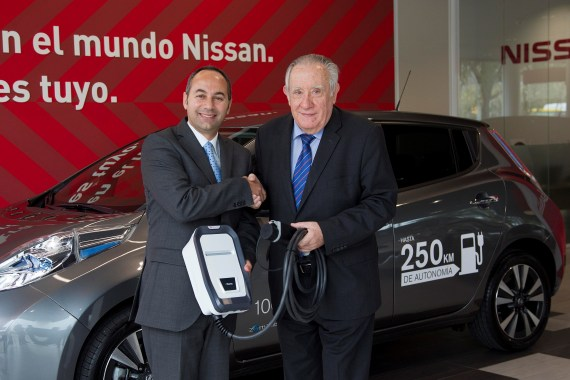 Nissan firma un acuerdo con Circutor para la promoción y difusión de la movilidad sostenible en España