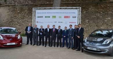 Nissan, el Govern y el Ayto. de Palma impulsan la movilidad eléctrica