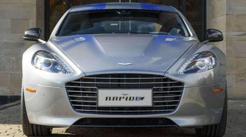 Así es el primer eléctrico de Aston Martin, el RapidE Concept