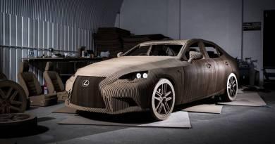 Lexus Origami, el primer Lexus eléctrico es de cartón