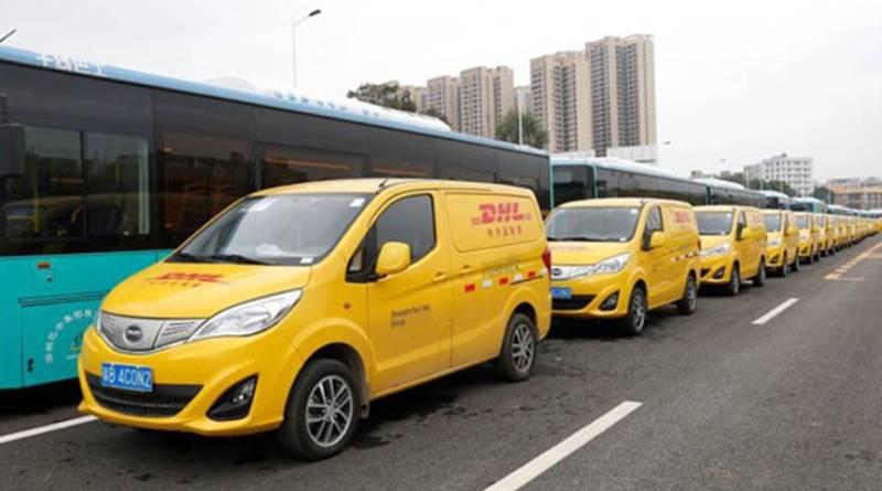 BYD suministra 35 furgonetas eléctricas a DHL