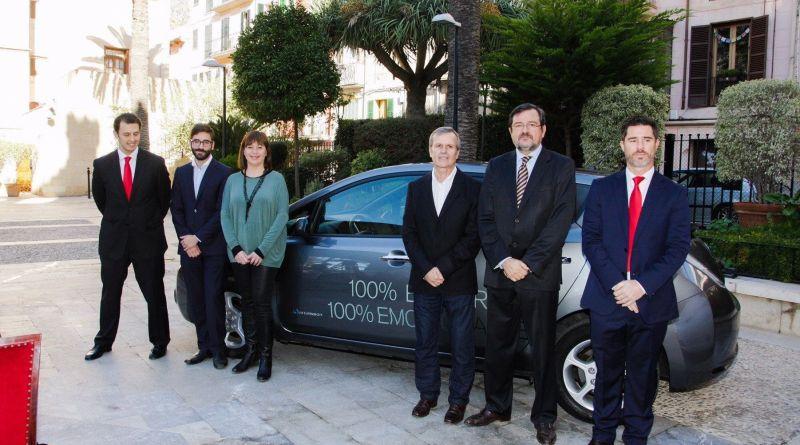 Nissan y el Govern Balear impulsan la movilidad sostenible