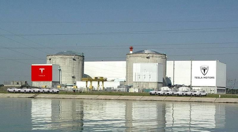 Francia ofrece a Tesla una central nuclear. Central nuclear francia. Fabrica de coches en central nuclear. Tesla motors factory