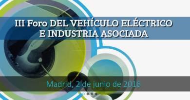 III Foro del Vehículo Eléctrico e Industria Asociada