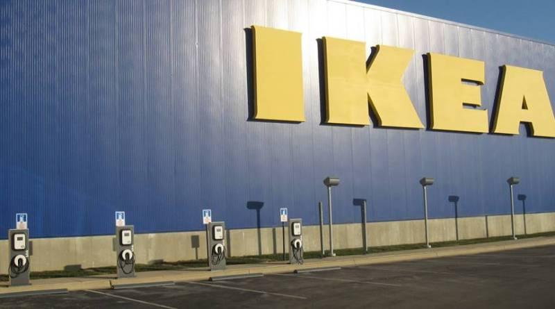 ¿Y si IKEA ya pudiera regalar electricidad a sus clientes con vehículos eléctricos? . Puede IKEA regalar electricidad a sus clientes para cargar vehículos eléctricos