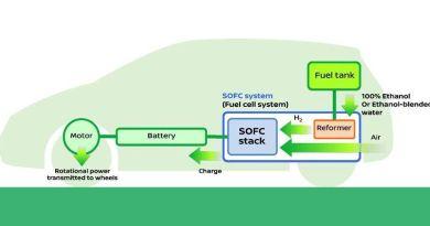 Nissan desarrolla el primer sistema de pila SOFC que funciona con electricidad por bioetanol