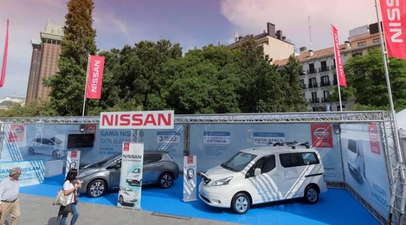 Nissan encabeza el VEM2016 Madrid