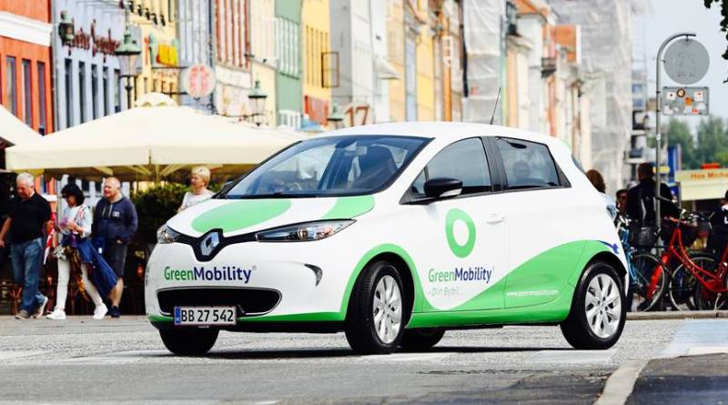 Carsharing eléctrico de Renault y GreenMobility, carshairng coches electricos
