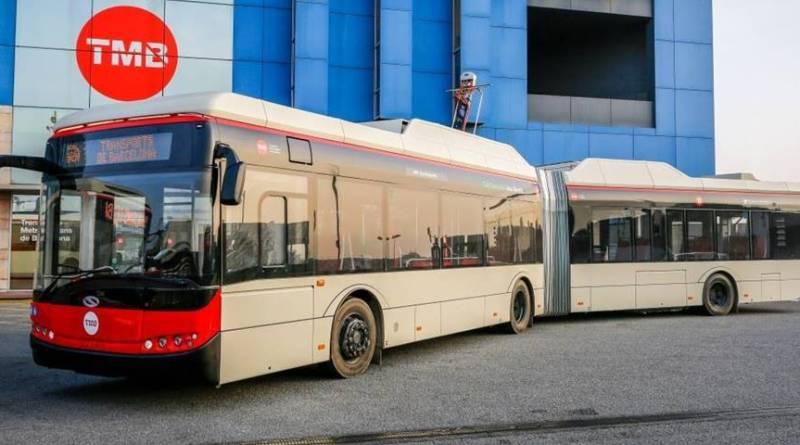 CAF adquiere Solaris, fabricante polaco de autobuses eléctricos. Barcelona prueba el autobús eléctrico Solaris Urbino E18