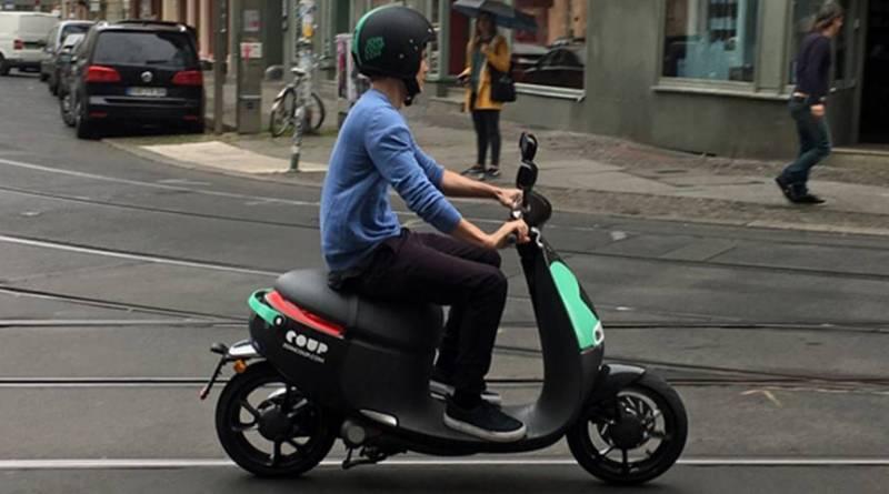 COUP, el motosharing eléctrico de Bosch, llegará a Madrid en verano. COUP, el motosharing de Bosch para Berlín