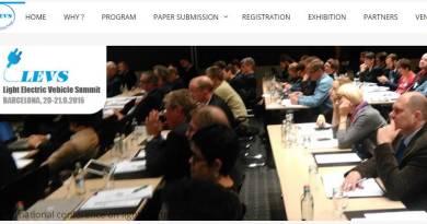 World Light Electric Vehicle Summit el 20 y 21 de septiembre en Barcelona