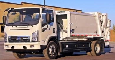 Llegan los primeros camiones de basura eléctricos. BYD T7 garbage truck. Camiones de basura eléctricos de Wrightspeed y Ratto Group