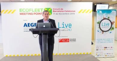 Ecofleet Meeting Point, el evento de flotas de vehículos sostenibles. Evento flotas de AEGFA en Barcelona. Plataforma LIVE y Ecofleet 2016