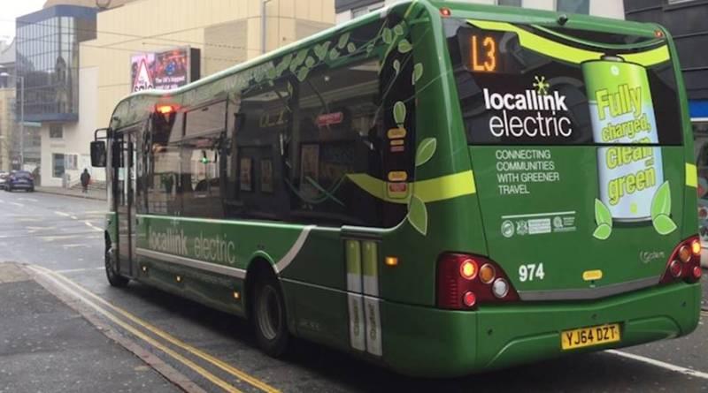 Nottingham apoya la movilidad eléctrica con la mayor flota de buses electricos