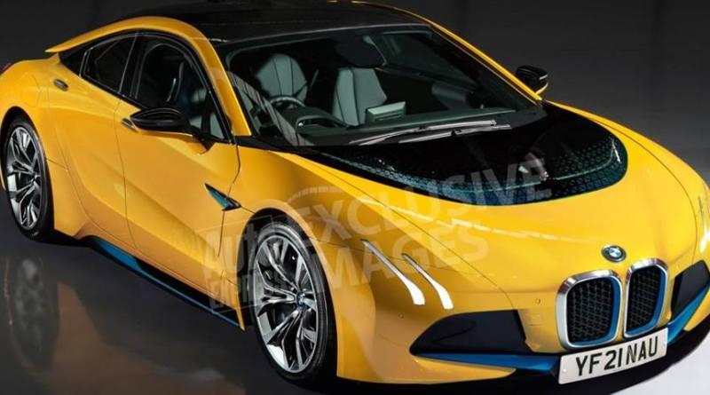 BMW i5, el rival del Model S que llegará en 2021. New BMW i5 the german electric car of the future. Rival del Tesla Model S