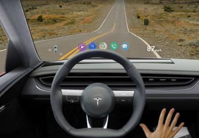 Interior del Tesla Model 3, heads-up display y más detalles