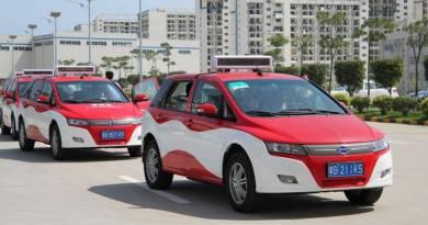 China quiere tener 70.000 taxis eléctricos. BYD taxi eléctrico