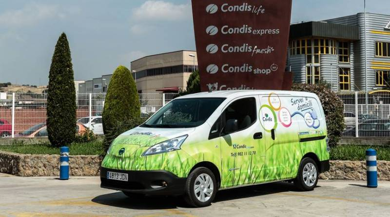 Los supermercados Condis ahorran con la Nissan e-NV200