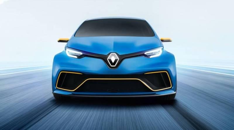 Concept-car Renault ZOE e-Sport Concept, un ZOE ultra potenciado
