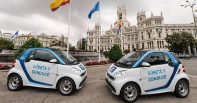 Car2go venderá sus emisiones de dióxido de carbono generadas en Madrid