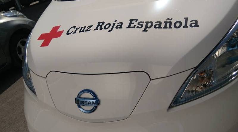 Nissan ha cedido una e-NV200 a la Cruz Roja en Madrid