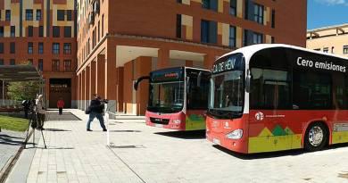 Bus eléctrico Irizar i2e para Azuqueca de Henares y Burgos
