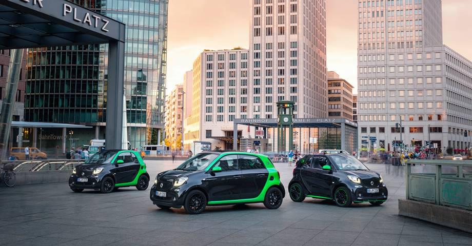 La gama smart 100% eléctrica estará presente en el Automobile Barcelona