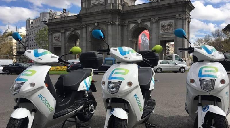 eCooltra, el motosharing eléctrico, llega a Madrid con 280 scooters