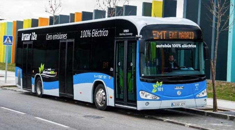 La EMT compra 15 autobuses eléctricos Irizar i2e