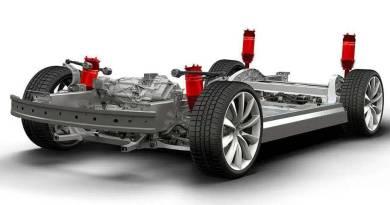 El Tesla Model 3 tendrá suspensión inteligente de aire
