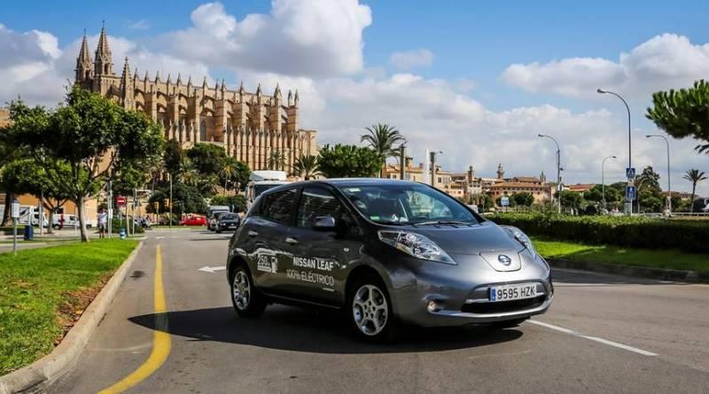Todos los coches de alquiler serán eléctricos en 2030 en las Islas Baleares