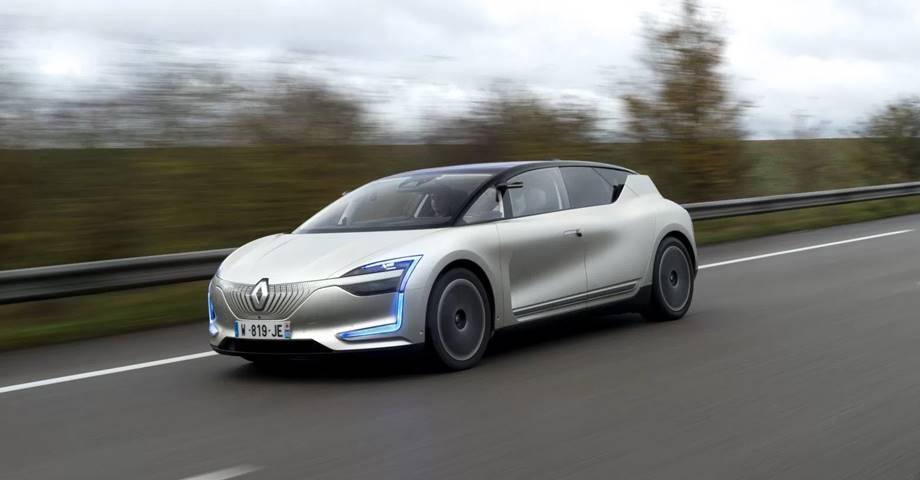 Renault SYMBIOZ. El vehículo eléctrico y autónomo según el fabricante francés