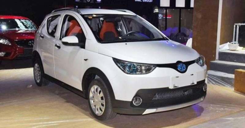 BAIC EC Series, el coche eléctrico más vendido en 2017