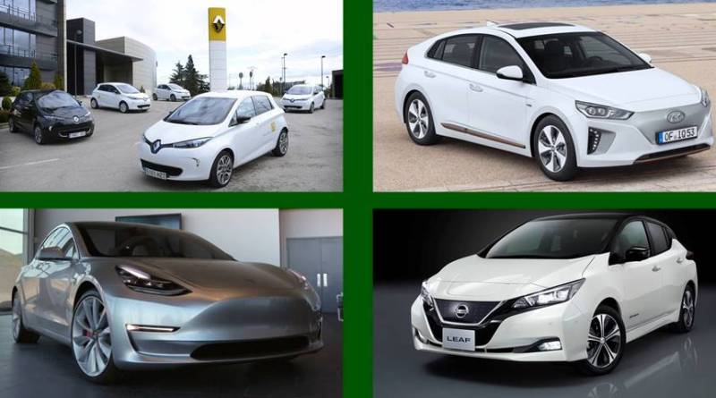 Los mejores coches eléctricos para el 2018. TOP10 Electromovilidad