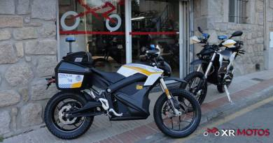 La Policía Municipal de Madrid adquiere diez motos eléctricas