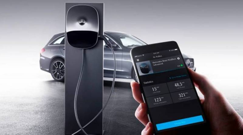 Mercedes-Benz presenta su nuevo wallbox para recargas en casa