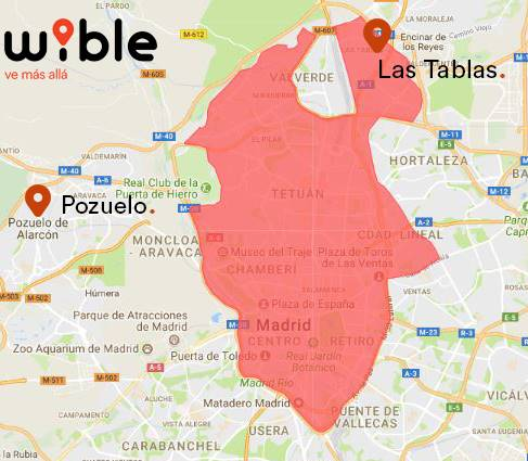 WiBLE_Zonas de actuación