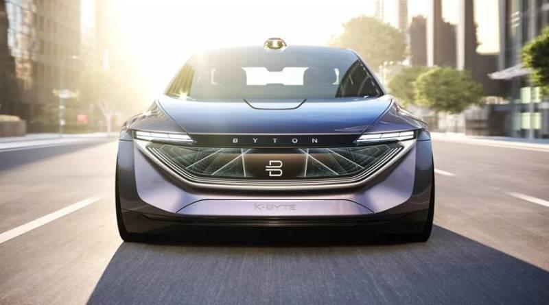 BYTON K-Byte Concept, el nuevo sedán eléctrico y autónomo
