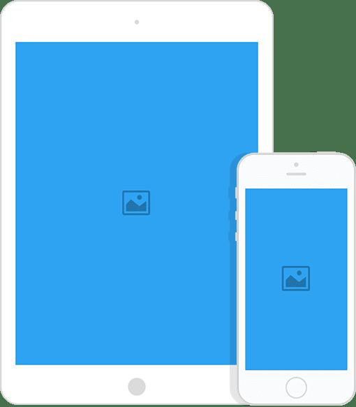 Site optimisé pour Smartphone et Tablette