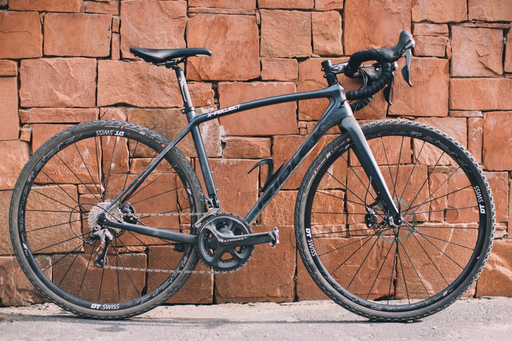 The Ridley all-road bike.