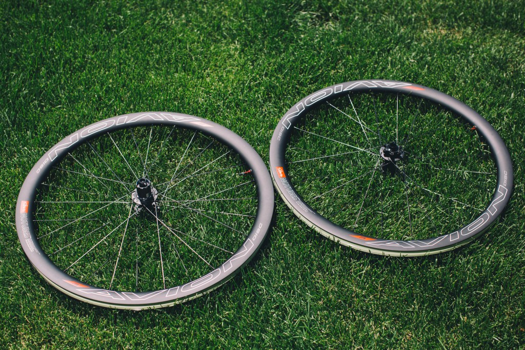 The new Stan's Avion carbon disc wheelset.