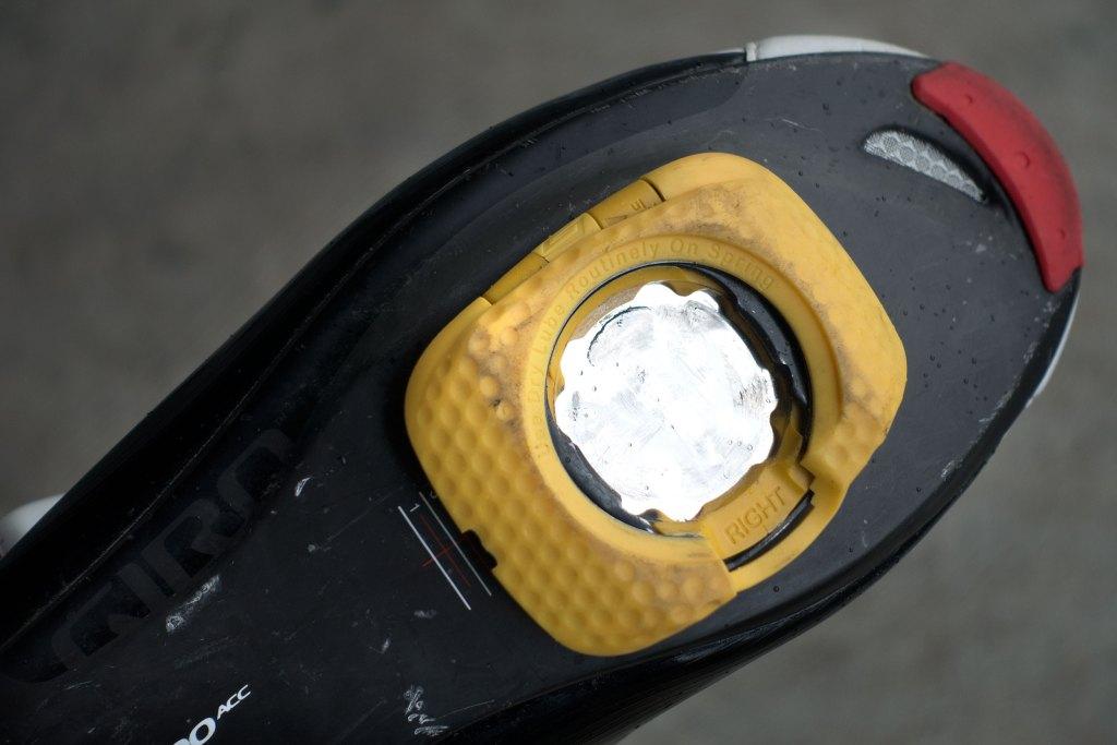 Speedplay Zero Aero Walkable Cleats. Photo: Jim Merithew/Element.ly