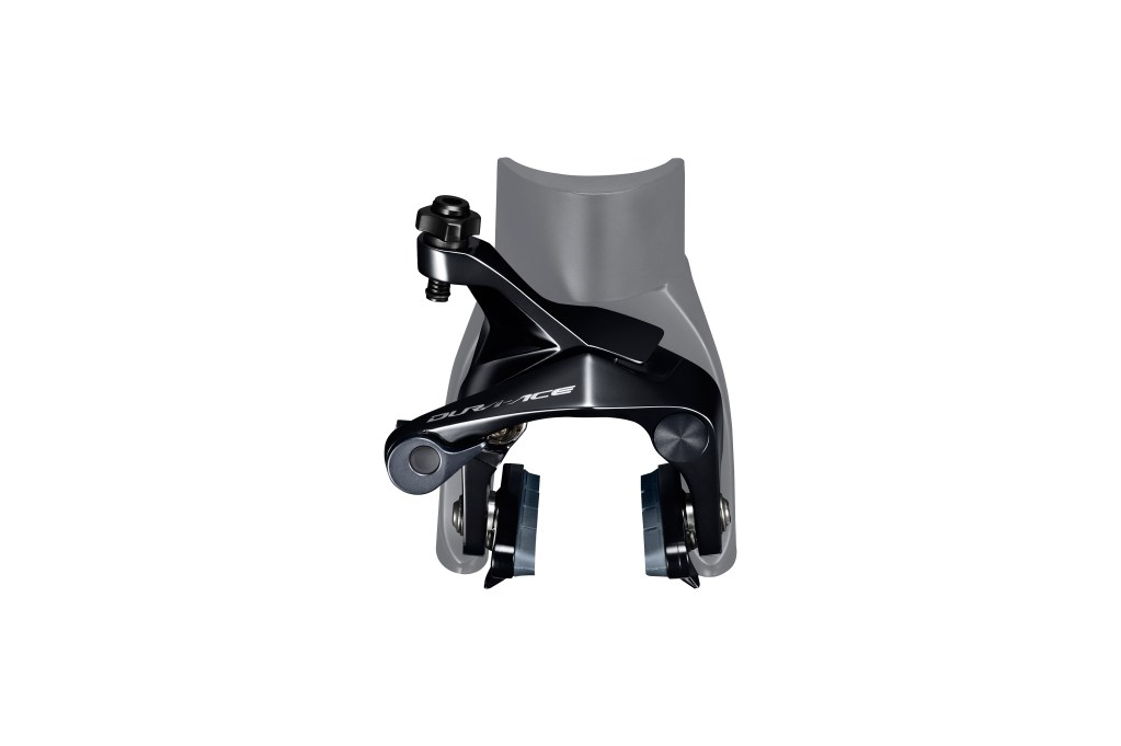 Redesigned Direct Mount rim brake caliper. photo: Shimano