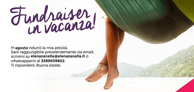 fundraiser in vacanza little