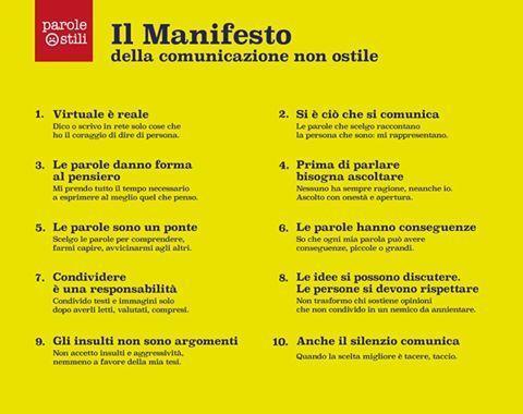 ManifestoParoleOstili