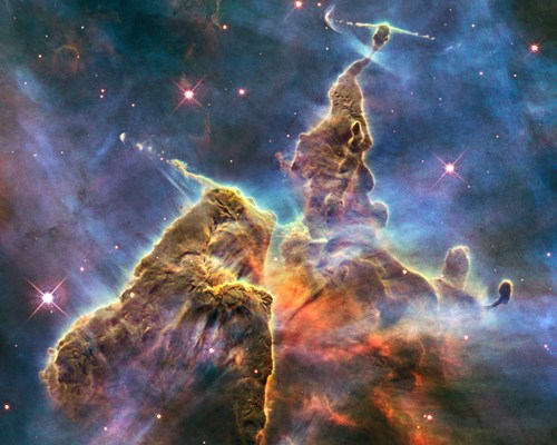 """Mystic Mountain"" via Hubble"