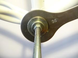 0603 Rimozione movimento a perno quadro a calotte 15